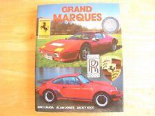 GRAND MARQUES HARDBACK BOOK NIKI LAUDA ALAN JONES JACKY ICKX 255 PAGES