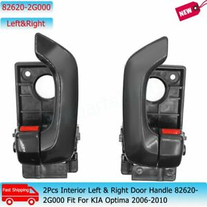 2Pcs Interior Left & Right Door Handle 82620-2G000 Fit For KIA Optima 2006-2010