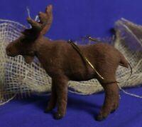 Flock Moose Ornament