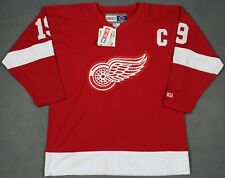 Steve Yzerman Detroit Red Wings Vintage CCM NHL Jersey Red Medium New With Tags