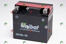 CBTX5L-BS BATTERIA MOTO/SCOOTER ORIGINALE UNIBAT PER APRILIARS50502007