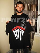 WWE FINN BALOR HAND SIGNED ADULT DEMON T SHIRT WITH EXACT PICTURE PROOF & COA 1