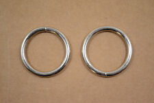 "O Ring - 1 1/4"" - Nickel Plated - Wire Welded - Pack of 12 (F413)"