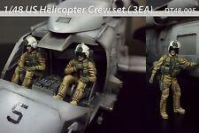1/48 US Helicopter Crew set ( 3EA)