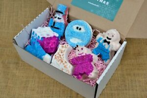 Christmas Bath Bombs, Various Shapes and Fragrances, Add a Gift Box