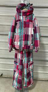 686 Snowboard Jacket & Pants - Youth Girls Medium - Ski Suit Winter Snowboarding