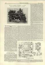 1915 ad alta velocità della torretta tornio Reed Prentice