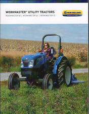 "New Holland ""Workmaster"" Utility Tractor Brochure Leaflet"