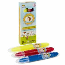 ❤GEL CRAYONS SET OF 3 COLORS Silky Smooth And Bolder Pastel, Watercolor Effects❤