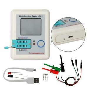 Hot Multifunction Transistor Tester Diodes LCR - TC1 Full Color Graphics Display