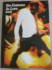 The Datsuns - In love      SCARCE PROMOTIONAL MUSIC POSTER