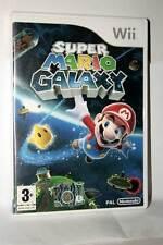 SUPER MARIO GALAXY GIOCO USATOOTTIMO  NINTENDO Wii EDIZIONE ITALIANA FR1 36793