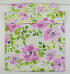 Weather Proof Canvas Clothes Peg Bag Holder- For Trolley & Washing Line Floral