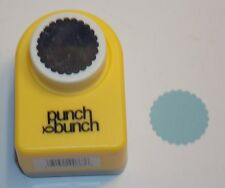 1 inch Circle Scallop Circle 24mm Scrapbook Paper Punch Bunch H43 Dollys Gallery