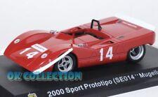 1:43 FIAT ABARTH 2000 SPORT PROTOTIPO SE014 MUGELLO-1969_Collection Hachette(65)