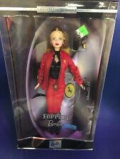 BARBIE DOLL 2000 FERRARI COLLECTOR EDITION RED LEATHER OUTFIT NIB NEW
