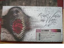 """ROGER WATERS """" THE WALL""""  LIVE 2011 PROGRAMME & TICKET"""
