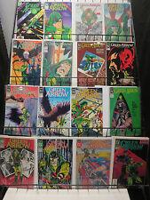 Green Arrow Mini-Library Survey Lot of 64Diff (DC 1983-2012) Black Canary Bowfun