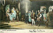 Udbk Mexico Postcard M353 Cortes ante Moctezuma Cortez Before Montezuma