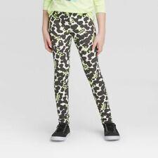 Cat & Jack Girls Leggings Animal Print Splatter Design, Durable Knee Choose Size