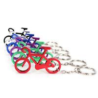 6 Stück !! Schlüsselanhänger Fahrrad Bicycle Geschenk Anhänger MEtall Aluminium