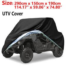 Waterproof Utility Vehicle Utv Cover Rain For Polaris Ranger Rzr 500 570 800 900