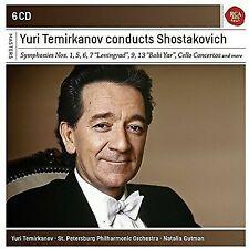 Termirkanov Conducts Shostakovitch [New CD Box set]