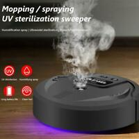 Home UV Disinfection Smart Sweeping Robot Vacuum Cleaner Floor Suction Sweeper