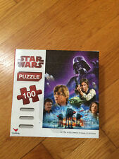 STAR WARS PUZZLE 100 PIECES DARTH WADER HARD TO FIND 15 INCHES X 11.25 INCH