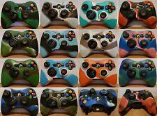Controlador De Silicona Xbox 360 Camuflaje Cubierta Protectora Piel de Reino Unido 14 estilos