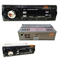 PDR*STEREO AUTORADIO AUTO CAMPER  FM MP3 PORTA USB SD LCD 50Wx4 RCA GT-1245E