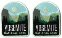 Yosemite National Park Patch [Lot of 2 Patches] Embroidered Iron or Sew On Badge
