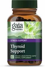 Thyroid Support, Gaia Herbs, 60 capsule