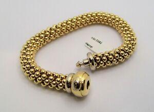 FOPE bracciale oro giallo 18KT yellow gold bracelet