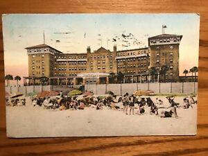 Vintage Postcard - The Clarendon Hotel, Daytona Beach, Fla. - Posted 1936 - Nice