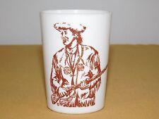 """Vintage Kitchen 3 5/8"""" Melmac Dinnerware Plastic Daniel Boone Cup"""