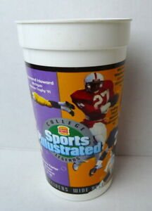 Sports Illustrated College Legends Burger King Cup Howard Westbrook 1995 WR