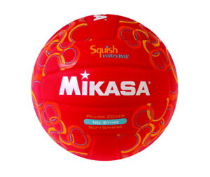 Mikasa Squish Volleyball, Red
