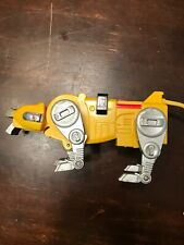 VOLTRON DEFENDER of the UNIVERSE 1998 WEP FIGURE YELLOW LION ROBOT Toy E