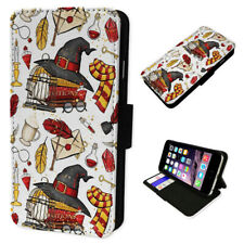 Wizard Accessories Red - Flip Phone Case Wallet Cover Fits Iphone 6 7 8 X 11