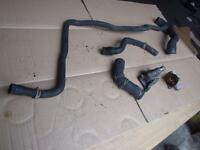 2003 VAUXHALL CORSA C SXI 1.2 Z12XE THERMOSTAT HOUSING AND WATER HOSES