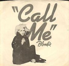 """BLONDIE - Call Me (1980 VINYL SINGLE 7"""" US PS)"""