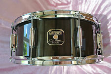 "GRETSCH 14"" CATALINA MAPLE TRANSLUCENT EBONY SNARE DRUM for YOUR DRUM SET! #V270"