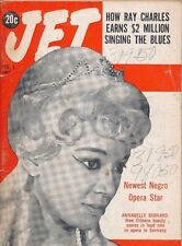 Jet Magazine 2/1/1962 Ray Charles earns $2 Million Annabelle Bernard Opera Star