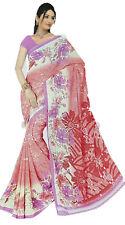 Chiffon Bollywood Karneval Sari Orient Indien Fo406