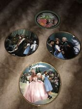 A Lot Of 4 Wizard Of Oz Plates By The Hamilton Collection