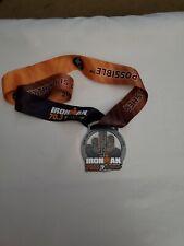 Ironman 70.3 Arizona October 21, 2018 Medal & Finisher Ribbon