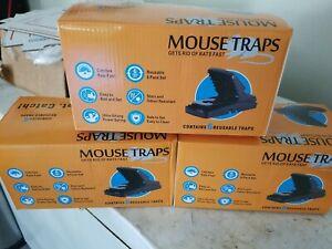 Mouse Trap Rat Rodent Killer Catcher Snap Traps Pest Control Reusable 18 not 6