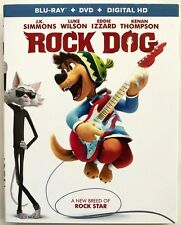 ROCK DOG BLU RAY 1 DISC ONLY + SLIPCOVER SLEEVE FREE WORLD WIDE SHIPPING BUY IT