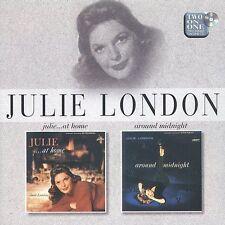 Julie...At Home/Around Midnight by Julie London (CD, Jun-1998, Liberty)